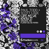 Life As We Know It by Paul Todd