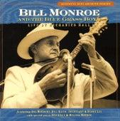 Live At  Mechanics Hall by Bill Monroe