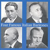 Four Famous Italian Baritones de Various Artists