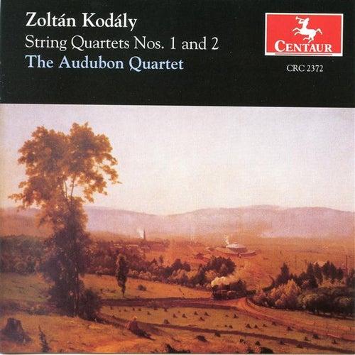 Kodaly: String Quartets Nos. 1 & 2 by The Audubon Quartet
