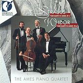 Strauss, R.: Piano Quartet, Op. 13 / Widor, C.-M.: Piano Quartet, Op. 66 de Ames Piano Quartet