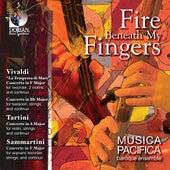 Chamber Music (Baroque) - Vivaldi, A. / Tartini, G. / Sammartini, G. (Fire Beneath My Fingers) by Various Artists