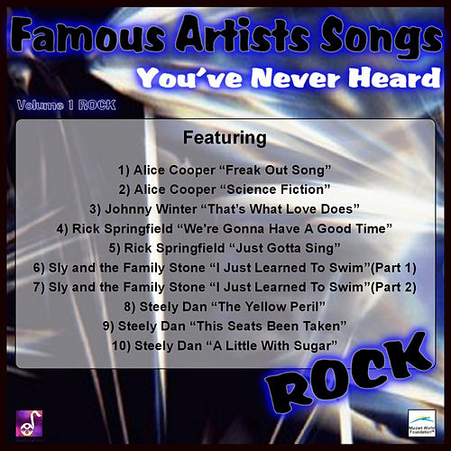 Famous Artists Songs You've Never Heard Rock, Vol. 1 by Various Artists