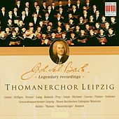 Bach: Thomanerchor Leipzig (Legendary recordings) von Various Artists