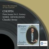 Sonata No.3 & Fantasy etc. von Claudio Arrau
