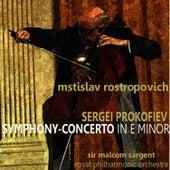 Prokofiev: Symphony-Concerto in E Minor de Mstislav Rostropovich