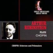 Great Musicians, Great Music: Arthur Rubenstein Plays Chopin by Arthur Rubinstein