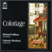 Coloriage von Richard Galliano
