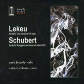 Lekeu: Sonata For Cello and Piano in F Major - Schubert: Sonata For Arpeggione and Piano in A Minor D. 821 von Mario Brunello