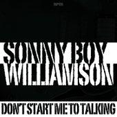 Don't Start Me to Talking de Sonny Boy Williamson