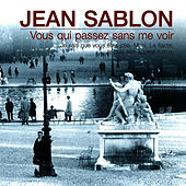 Vous qui passez sans me voir von Jean Sablon