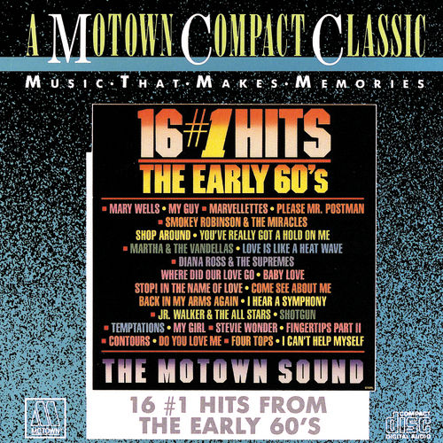 16 #1 Hits From The Early 1960's by Various Artists