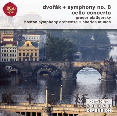 Dvorak Symphony No. 8; Cello Concerto by Charles Munch
