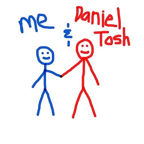 Me & Daniel Tosh by Krispy Kreme