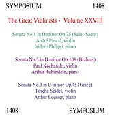 The Great Violinists, Vol. 28 by Various Artists