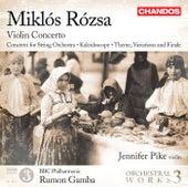 Rózsa: Orchestral Works, Vol. 3 de Various Artists