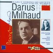 Milhaud: Early String Quartets & Vocal Works, Vol. 1 de Various Artists
