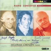 Haydn, Weber & Genzmer: Piano Concertos by Wolfram Lorenzen