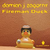 Fireman Duck von Damian J Zagorny