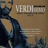 Great Singers for Verdi (Vol.2) de Various Artists