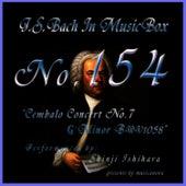 Bach In Musical Box 154 / Cembalo Concert No7 G Minor Bwv1058 by Shinji Ishihara