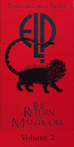 The Return Of The Manticore, Vol. 2 by Emerson, Lake & Palmer