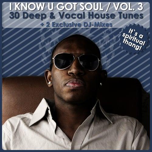 I Know U Got Soul Vol. 3 - 30 Deep & Vocal House Tunes (2 Exclusive DJ-Mixes) von Various Artists
