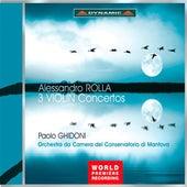 Rolla: 3 Violin Concertos de Paolo Ghidoni