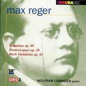 Reger: Piano Pieces by Wolfram Lorenzen