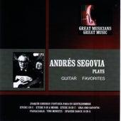 Great Musicians, Great Music: Andrés Segovia de Andres Segovia
