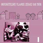Onvergetelijke Vlaamse Liedjes van Toen, Volume 1 by Various Artists