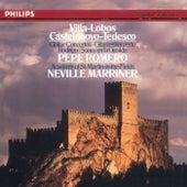 Villa-Lobos & Castelnuovo-Tedesco Guitar Concertos; Rodrigo: Sones En La Giralda di Pepe Romero