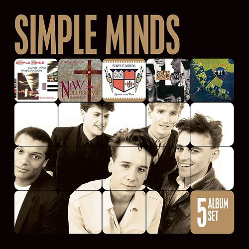 5 Album Set (Remastered) (Sons and Fascination/New Gold Dream/Sparkle in the Rain/Once Upon a Time/Street Fighting Years) by Simple Minds