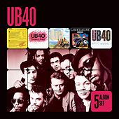 5 Album Set (Signing Off/Present Arms/UB44/Labour of Love/Geffery Morgan) van UB40