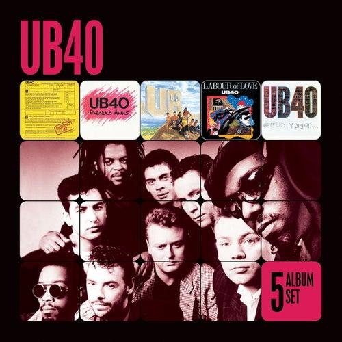 5 Album Set (Signing Off/Present Arms/UB44/Labour of Love/Geffery Morgan) by UB40