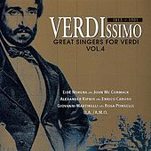Great Singers for Verdi (Vol.4) de Various Artists