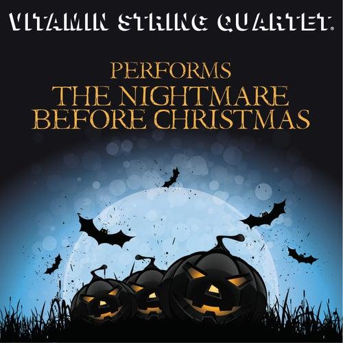 Vitamin String Quartet Performs The Nightmare Before Christmas by Vitamin String Quartet