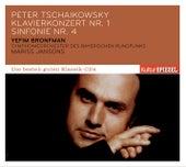 Tschaikowski: Klavierkonzert Nr. 1/Sinfonie Nr. 4 von Mariss Jansons