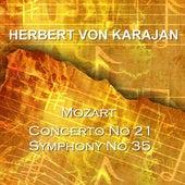 Mozart Concerto No 21 & Symphony No 35 by Various Artists