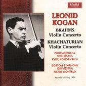 Leonid Kogan Plays Brahms & Khachaturian von Various Artists