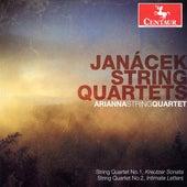 Janacek: String Quartets Nos. 1-2 de Arianna String Quartet