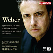 Weber: Symphonies Nos. 1 & 2 - Bassoon Concerto by Various Artists