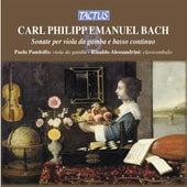 Bach: Sonate per Viola da Gamba e Basso Continuo de Paolo Pandolfo