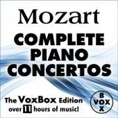 MOZART: Complete Solo Piano Concertos (The VoxBox Edition) von Various Artists