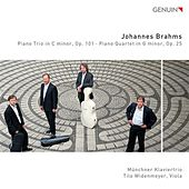 Brahms: Piano Trio in C minor, Op. 101 - Piano Quartet in G minor, Op. 25 by Munich Piano Trio