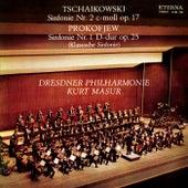 TCHAIKOVSKY, P.I.: Symphony No. 2 / PROKOFIEV, S.: Symphony No. 1 (Dresden Philharmonic, Masur) by Kurt Masur