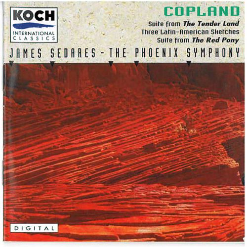 The Tender Land/Three Latin-American Sketches... by Aaron Copland