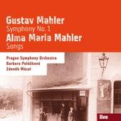 Gustav Mahler: Symphony No. 1 - Alma Maria Mahler: Songs by Various Artists