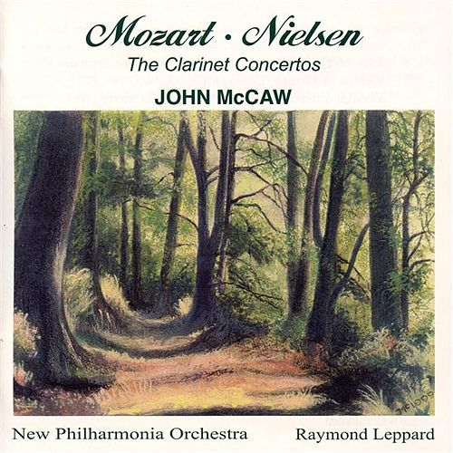 The Clarinet Concertos by John McCaw