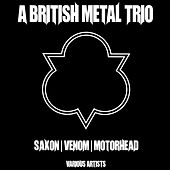 A British Metal Trio de Various Artists